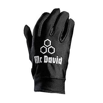 McDavid Cold Gripper Football Gloves [black]