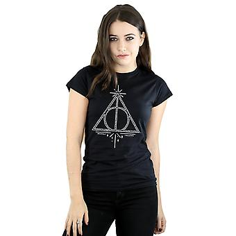 Harry Potter Women's Deathly Hallows Symbol T-Shirt