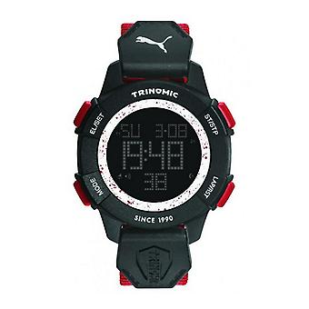 Puma Uhr Armbanduhr Herren Trinomic red Digital PU911271005
