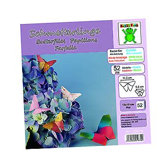 Kit to Make 52 Beautiful Origami Paper Butterflies | Origami Paper Packs