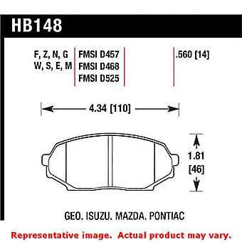Hawk 'Club Racing' Brake Pads HB148E.560 Fits:GEO 1990 - 1993 STORM  Position:
