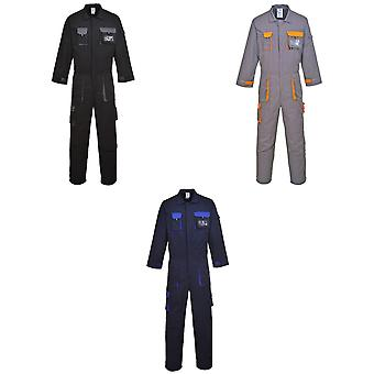 Portwest Unisex Texo Contrast Coverall / Workwear
