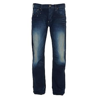 G-Star Attacc Straight Medium Aged Pillar Denim Jeans