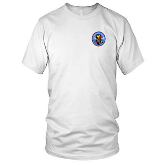 US Navy DD-699 USS Waldron Embroidered Patch - Ladies T Shirt