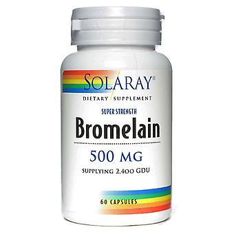 Solaray, Bromelain 500mg 60 Caps