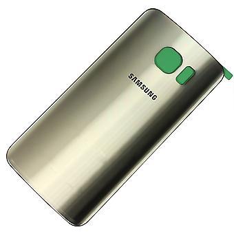 Samsung Galaxy S7 Edge battery Cover Gold-original quality-with camera lens + cover