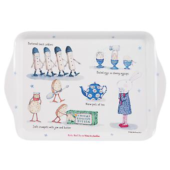 Ruby Red Shoes London Breakfast Scatter Tray