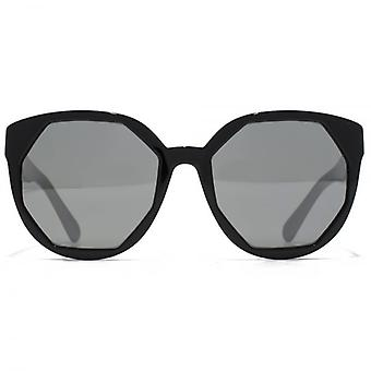 Marc Jacobs Cutting Edge Geometric Sunglasses In Black