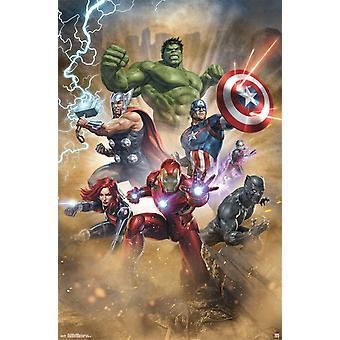 Avengers - Fantastic Poster Print