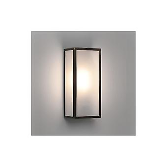 Messina Frosted Glas Bronze Outdoor-Wandleuchte - Astro Beleuchtung 7870