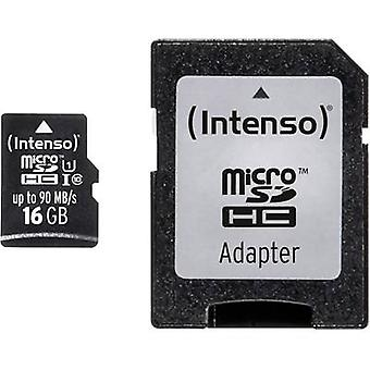 microSDHC card 16 GB Intenso Professional Class 10, UHS-I