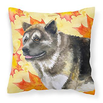 Carolines Treasures  BB9930PW1414 American Akita Fall Fabric Decorative Pillow