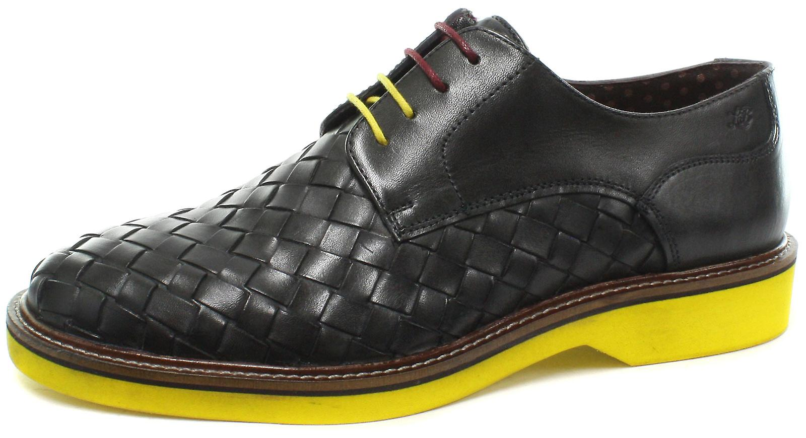 London Brogues Branson Mens Lace Up Derby Shoes  AND COLOURS