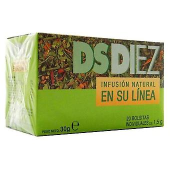 Phytovit Ds-Ten Infusion 20Sbrs. (Herboristeria , Infusions)