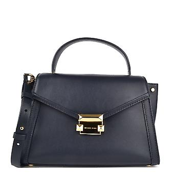 MICHAEL de Michael Kors Whitney Admiral medio Leather Satchel