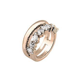 Joop kvinnors ring rostfritt stål Rosé helt enkelt moderna JPRG00007C1