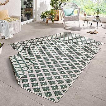 Draaien tapijt mooie groene room- & Outdoorv