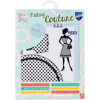 Dress Your Doll Making Couture Outfit Set-Peggy Dots