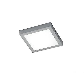 Lampada Nickel Matt alluminio soffitto moderna Zeus illuminazione Trio