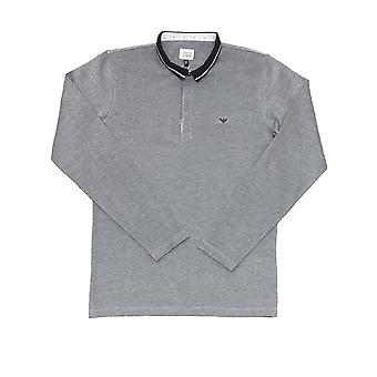 Armani Junior Boys Long Sleeve Polo