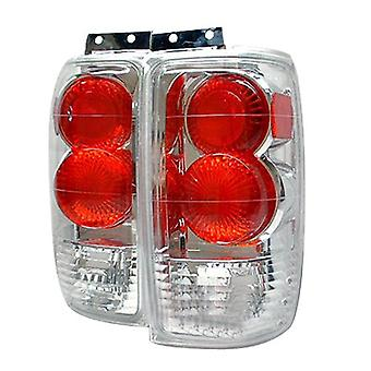 Spyder Ford Expedition 97-01 Altezza Tail Lights - Chrome