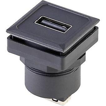 Socket, vertical vertical OKJ_USB_AA Schlegel Content: 1 pc(s)