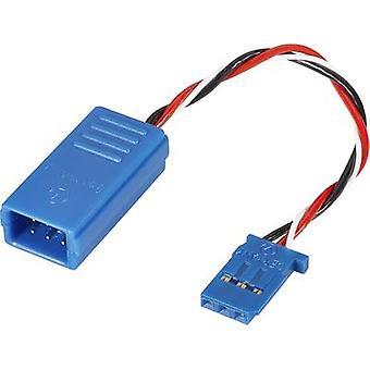 Servo Deluxe Y cable [2x Futaba plug - 1x Futaba socket] 100 mm