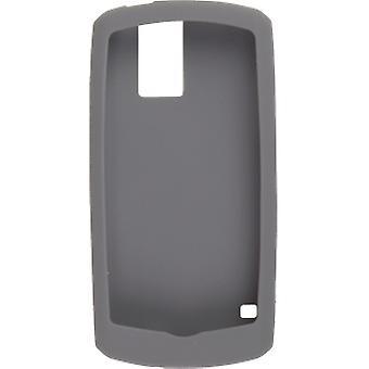 BlackBerry Rubberized Skin for BlackBerry Pearl 8100,8110,8120,8130 (Dark Gray)