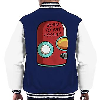Final Space Gary Born To Eat Cookies Men's Varsity Jacket