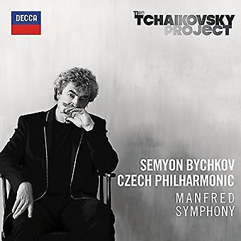 Bychkov / Czech Philharmonic - Tchaikovsky: Manfred Symphony [CD] USA import