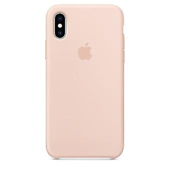 Apple iPhone Silicone Case XS - rosa Sand