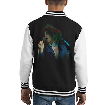 TV Times Marc Bolan Singing On Supersonic T Rex Kid's Varsity Jacket