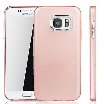 Samsung Galaxy S7 cas - cas de téléphone portable pour Samsung Galaxy S7 - mobile en rose rose