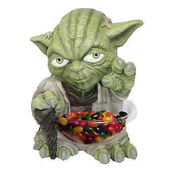 Star Wars mini candy Bowl holder Yoda candy holder, plastic (with dish).