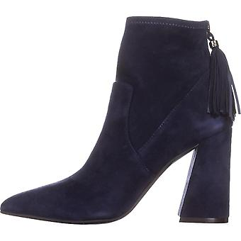 Kenneth Cole New York Womens Gracelyn Leather Pointed Toe Ankle Fashion Boots
