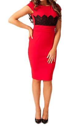 Waooh - Fashion - Pencil Dress Lace Yoke A