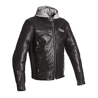 Segura Vintage Black Style Motorcycle Leather Jacket