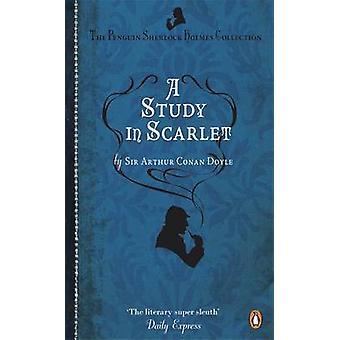 دراسة القرمزي قبل السير آرثر كونان دويل-كتاب 9780241952894