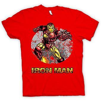 Mens T-shirt - Iron Man - komische Super held
