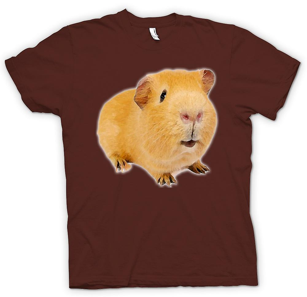Mens T-shirt - Guinea Pig 2 - Pet Animal