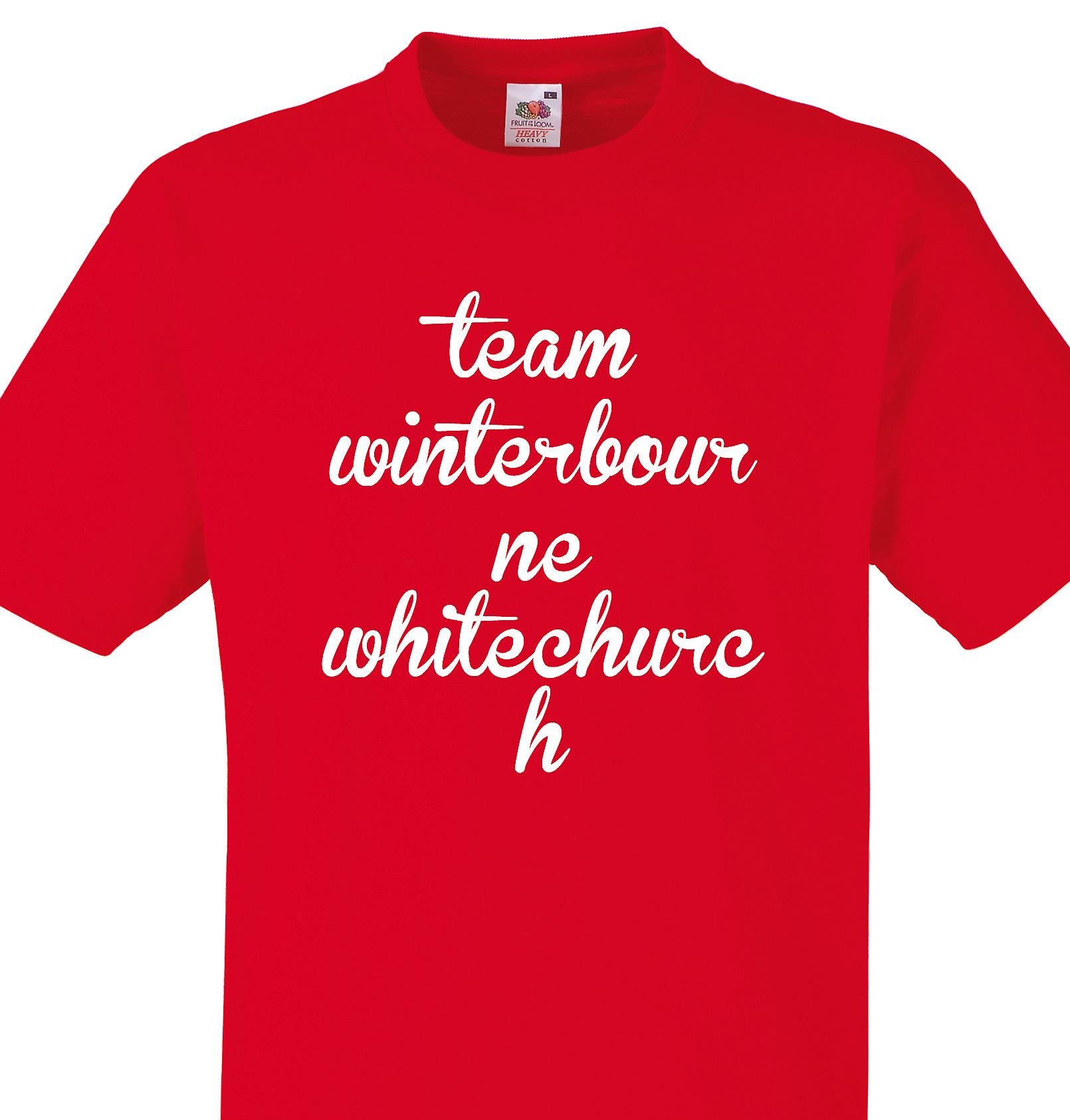 Team Winterbourne whitechurch Red T shirt