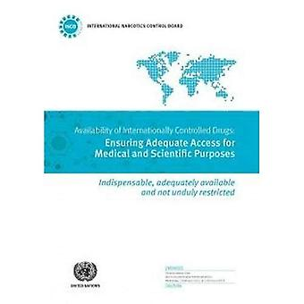 Availability of Internationally Controlled Drugs: Ensuring Adequate Access for Medical and Scientific Purposes