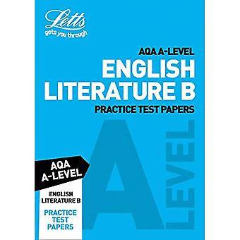 Letts A-Level Revision Success - AQA A-Level English Literature B Practice Test Papers (Letts� A-Level Revision Success)