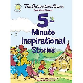 Le Berenstain porte 5 minutes d'histoires inspirantes: Livre-cassette classiques (Berenstain Bears/vie lumières)