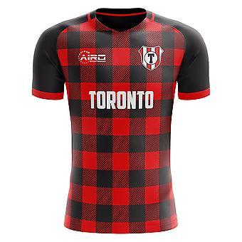 2019-2020 Toronto tartan concept voetbal shirt-kinderen