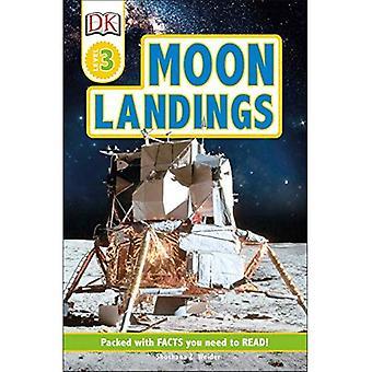 DK Readers Level 3: Moon Landings (DK Readers)