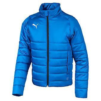 PUMA League casuals padded Jr kids padded jacket electric Blau lemonade