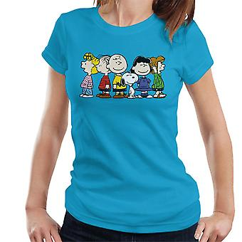 Peanuts Group Smiles Women's T-Shirt