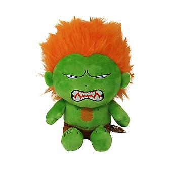 Street Fighter Blanka Sitting Pose Plush