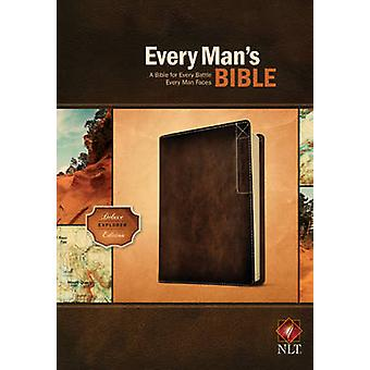 Every Man's Bible-NLT Deluxe Explorer - 9781414381077 Book